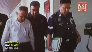 ICU director charged with two counts of corruption