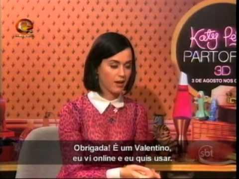 Programa da Eliana - Eliana entrevista a cantora Katy Perry