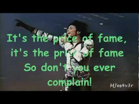 Michael Jackson - Price Of Fame