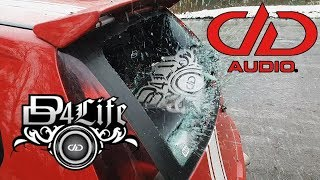 DD4Life Window Smash With +160dB Bass DD Audio Soundigital #puntodemobuild