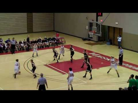Women's basketball vs. Wilmington (1-27-10) Video