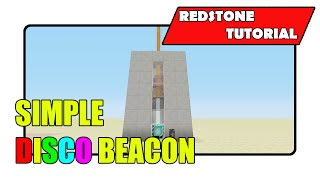 Simple Disco Beacon (Minecraft Xbox TU25/CU14/PlayStation CL1.17)