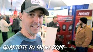 Quartsite RV Show 2019 What's Interesting?