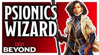 Psionics Wizard & Spells in D&D's Unearthed Arcana