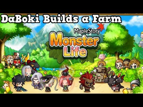 MapleStory Monster Life : DaBoki Builds A Farm