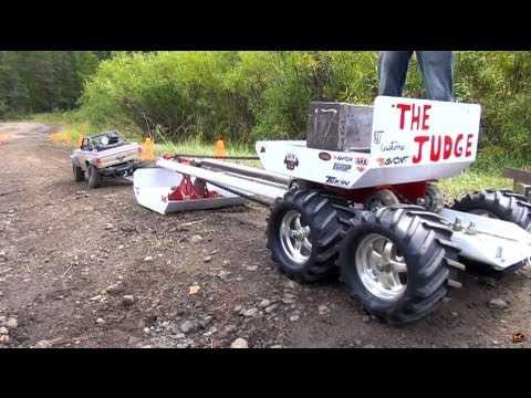 RC ADVENTURES - TTC 2013 - SLED PULL / Weight PULL - 4X4 Tough Truck Challenge