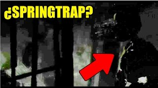 EL VIDEO SECRETO DEL FNAF SISTER LOCATION CUSTOM NIGHT ¿SPRINGTRAP VIVO?