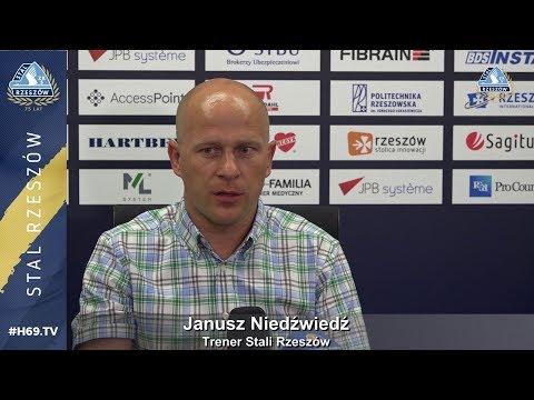 #H69.TV |KONFERENCJA| Stal Rzeszów - Lech II Poznań |2019.08.17|