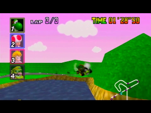 Mario Kart 64 150cc All Cups (Skips) Shortcut Speedrun 25:49 (Former WR)