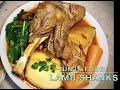 Lamb Shanks in the Ninja Foodi, Cheekyricho Cooking Youtube Video Recipe ep.1,442
