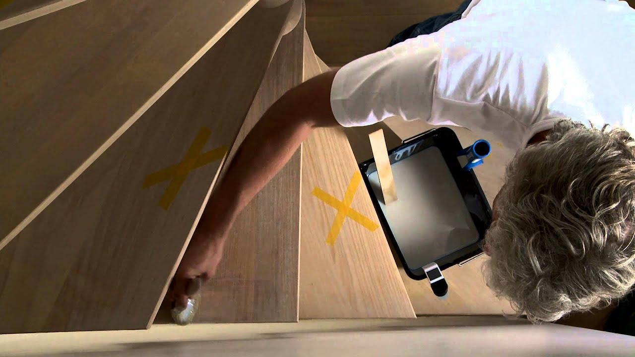 comment vitrifier un escalier en bois avec xyladecor vitrificateur escalier antid rapant youtube. Black Bedroom Furniture Sets. Home Design Ideas