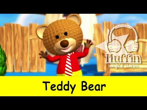 Muffin Songs - Teddy Bear     nursery rhymes & children songs with lyrics