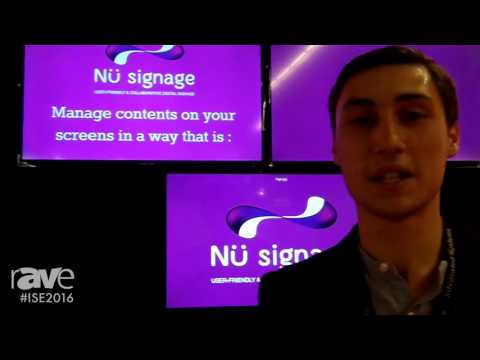 ISE 2016: Nu Signage Discusses Digital Signage Software to Easily Manage Multiple Screens