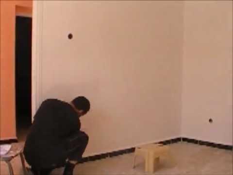Dessin et peinture sur le mur 1 youtube for Dessin mur