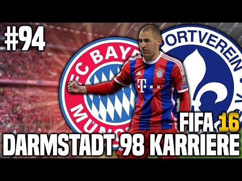 FIFA 16 KARRIEREMODUS #94 - FC BAYERN MÜNCHEN! | FIFA 16 KARRIERE SV DARMSTADT 98 [S3EP12]