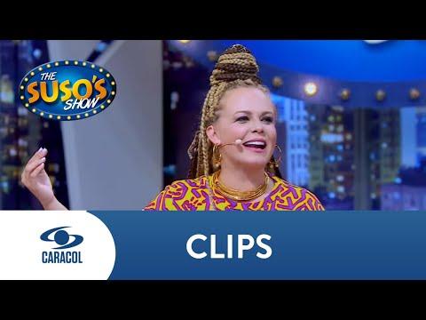 Suso reto a Carolina Sabino a hacer una escena para Chupamestepenco | The Suso's Show