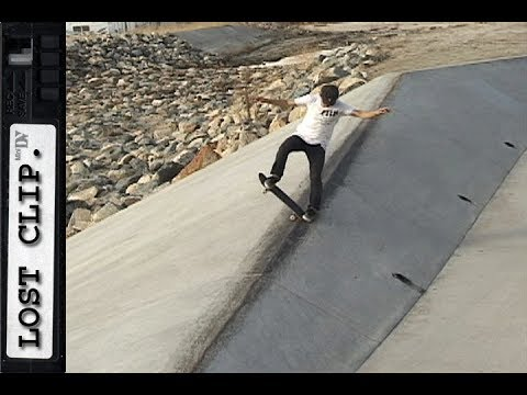 Geoff Rowley Lost & Found Skateboarding Clip #171 Long Noseblunt