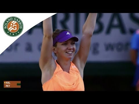 S. Halep v. A. Petkovic 2014 French Open Women's SF Highlights