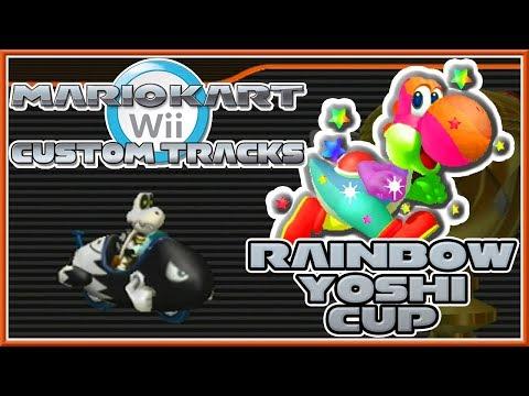 Mario Kart Wii Custom Tracks - Rainbow Yoshi Cup