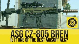 Best Airsoft Rifle??? ASG CZ-805 Bren | Airsoft Megastore TV