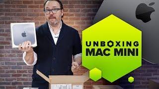 Unboxing the new Apple Mac mini (2018)