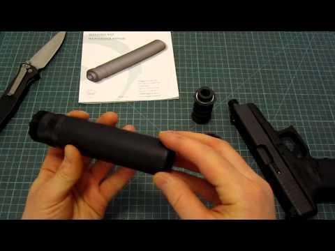 Глушитель. Ещё немного о глушителях (Glock 19Pro)