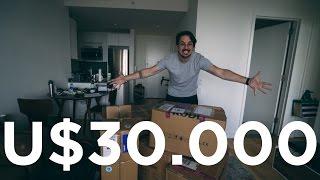 30 MIL DÓLARES EM EQUIPAMENTOS - UNBOXING ÉPICO