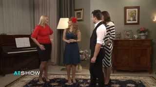 Provocare AISHOW: Aura susține examenul la tango
