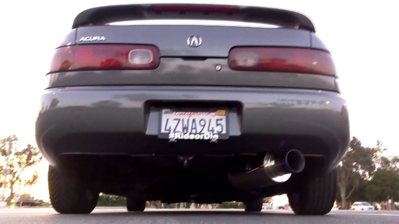 Exhaust Integra ls Acura Integra 1994 ls Jdm