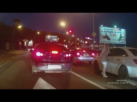 Драки на дороге! ДЕВУШКА VS ДЕВУШКА! #4