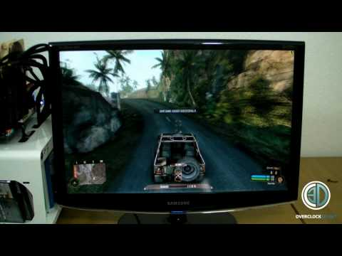 Gigabyte UD9 Quad Sli GTX480 980x   Crysis Warhead FPS testing 4/5