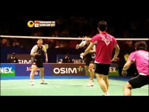 Lee Yong Dae Jung Jae Sung vs Wei Hong Ye Shen Yonex 2012 All England Open