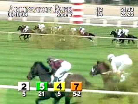 ARLINGTON PARK, 2008-05-10, Race 7 Video