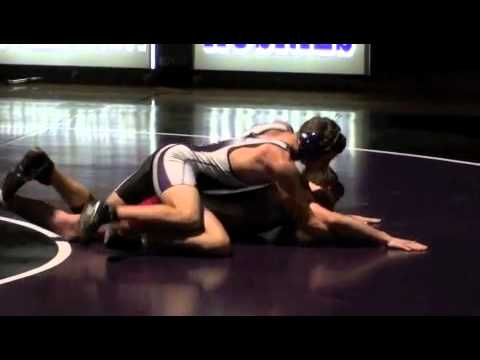 2012 Wrestling - Nathan Jan 19th Heritage HS Dual