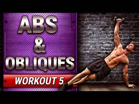 ABS & OBLIQUES | FULL WORKOUT - BUILD MUSCLE - WORKOUT 5 #SUMMERSHRED