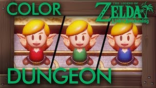 Zelda Link's Awakening (Switch) - Secret Color Dungeon