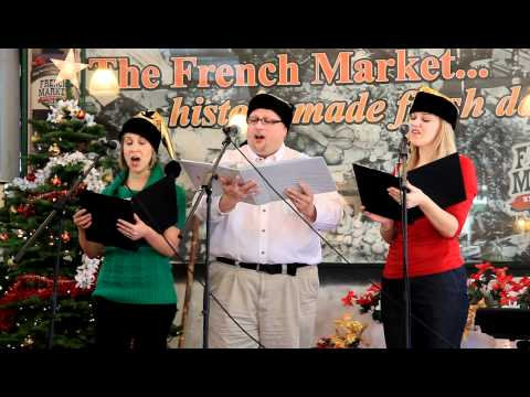 Bon Operatit! Sings Carols at the St. Nicholas Day Fair in the French Market