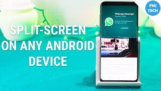 Get Multi Window Feature On Any Android Device