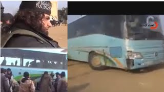 isis and al-nusra free pass - in Syrian border -New video
