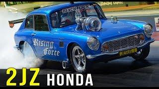 JESUS! ~ 1000hp 2JZ Honda S600