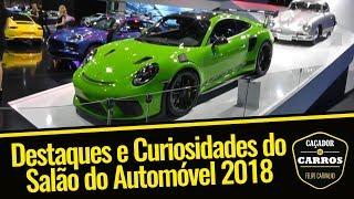 O que o Caçador de Carros viu no Salão do Automóvel 2018