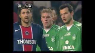 PSG 2-2 ASSE - 25e journée de L1 2005-2006