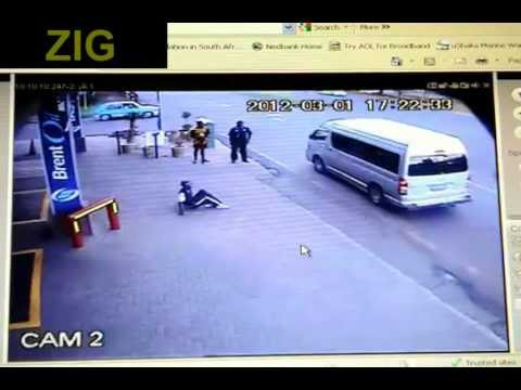 Brutal Road Rage Caught on CCTV in South Africa.