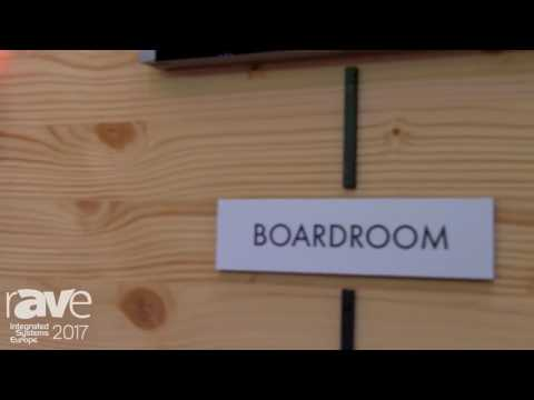 ISE 2017: CUE Introduces TouchONE Meeting Room Management System