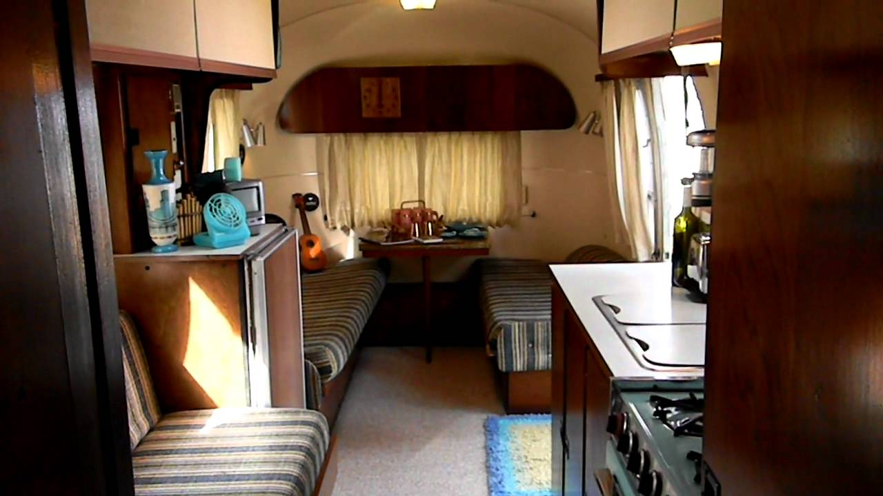 Airstream Travel Trailer >> 1967 Airstream Safari International (SOLD 5/20/11): interior walk-through - YouTube