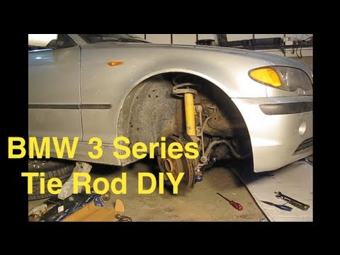 BMW Tie Rod Replacement (E46 3-Series) - MillerTimeBMW DIY 14