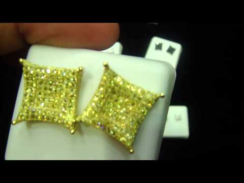 Mr Chris Da Jeweler Lab Diamond Exclusive Custom Earring