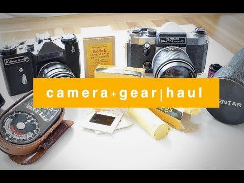 FILM CAMERA + GEAR   THRIFT HAUL