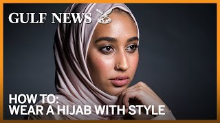 How to wear a hijab with style