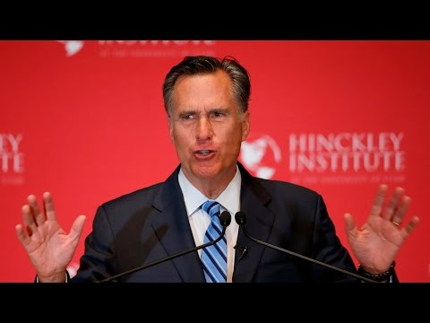 Watch Mitt Romney's Takedown of Donald Trump, in 3 Minutes